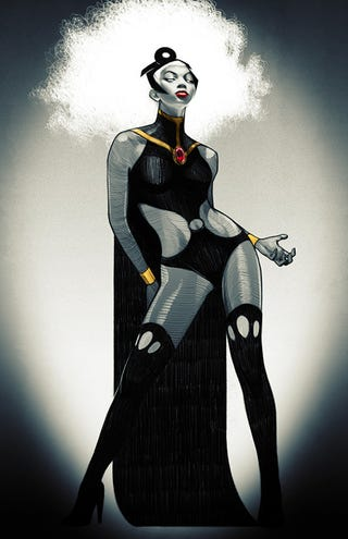 Illustration for article titled Totes objective answer: Most beautiful comic book character?