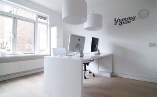 Illustration for article titled White on White: Inside the Offices of Yummygum