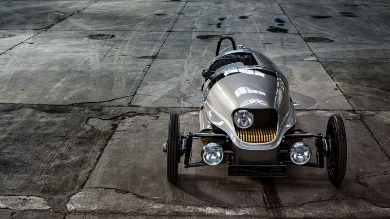 Ilration For Article Led The Magically Steampunk Morgan Electric 3 Wheeler Is Finally Going Into