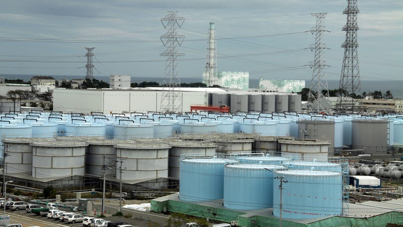 Fukushima's Radioactive Water Will Have to Be Dumped in the