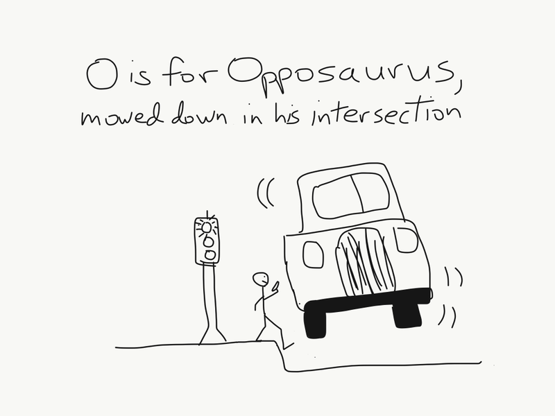 Illustration for article titled O is for...
