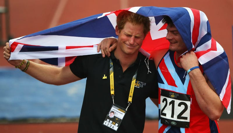 Illustration for article titled Show Prince Harry Some Love and Caption This Photo