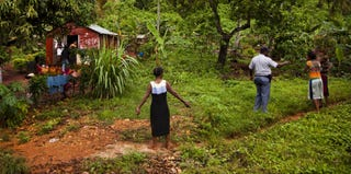 Residents in Samaná, Dominican Republic (Michael Hanson/Getty Images)