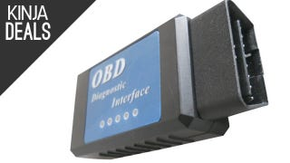 Illustration for article titled Wireless OBD-II Scanner, Plus More Auto Deals
