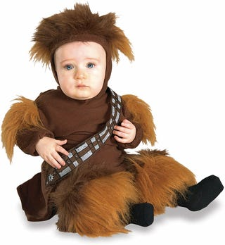 Illustration for article titled Adorable Star Wars Baby Costumes Guarantee Virginity for at Least Four Decades