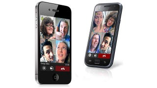 Illustration for article titled Fring App's Four-Way Video Calling Just Went Live