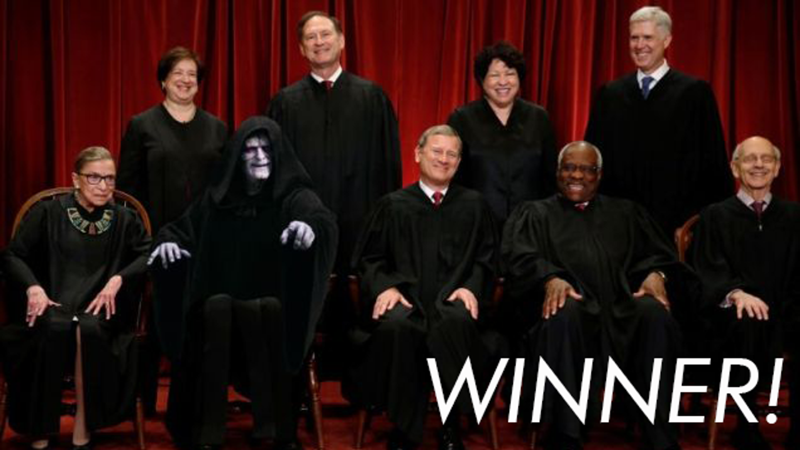 'Shop Contest: Palpatine Deserves To Be Everywhere, Winners!