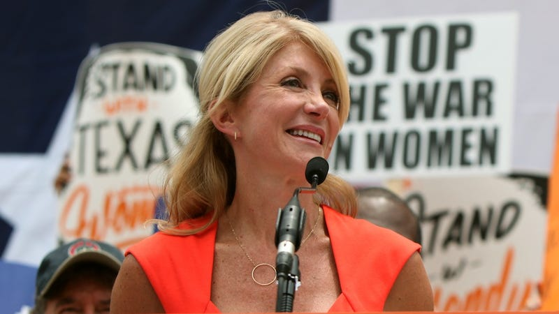 Illustration for article titled Professional Jagoff Nicknames Wendy Davis 'Abortion Barbie'