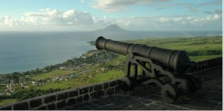 Brimstone Hill Cannon in St. Kitts (Thinkstock)