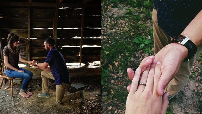 Illustration for article titled How We Live Now: Newly-Engaged Couple Met on Instagram