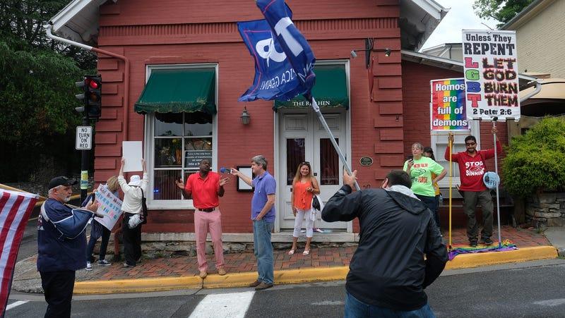 The Red Hen restaurant in Lexington. Virginia