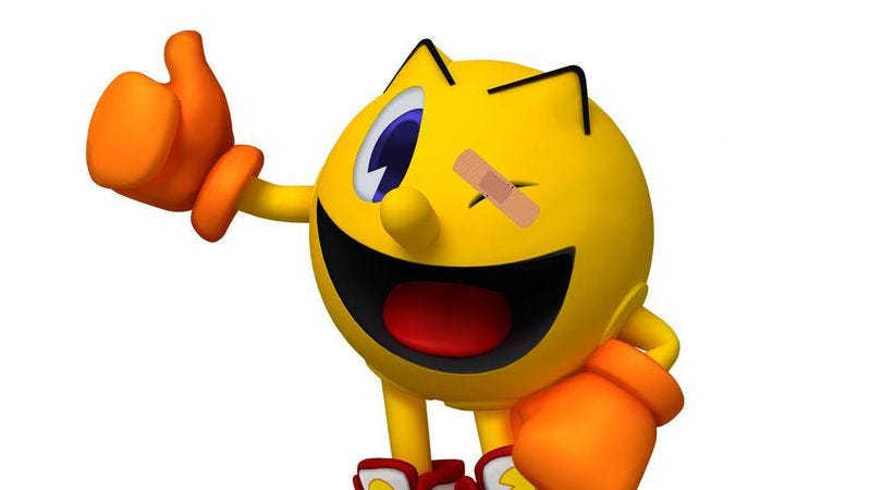 Illustration for article titled Real-world Pac-Man features more beatings than you might expect