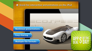 Illustration for article titled Daily App Deals: Get Presentation Link for iPad at Only 99¢ in Today's App Deals