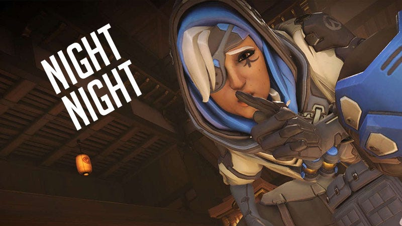 Illustration for article titled Ana Is A Sleep-Inducing Monster In Overwatch's Total Mayhem Mode