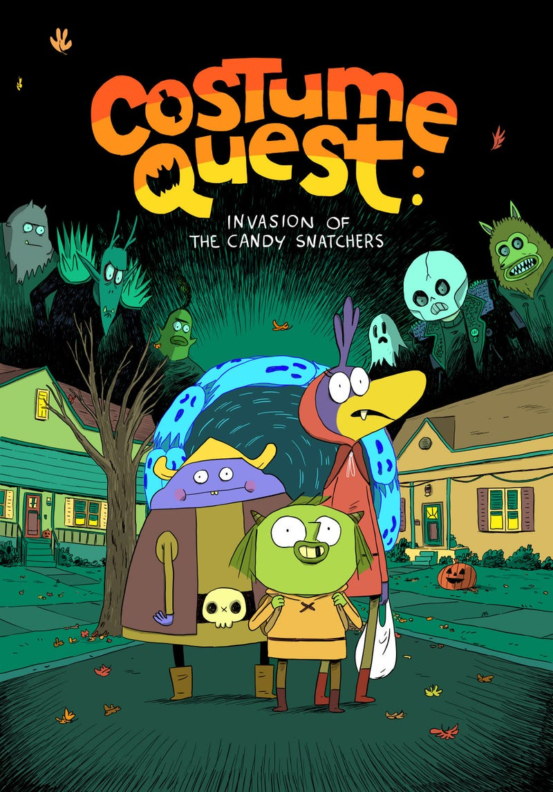 Illustration for article titled Costume Quest Goes From RPG To Comic Book