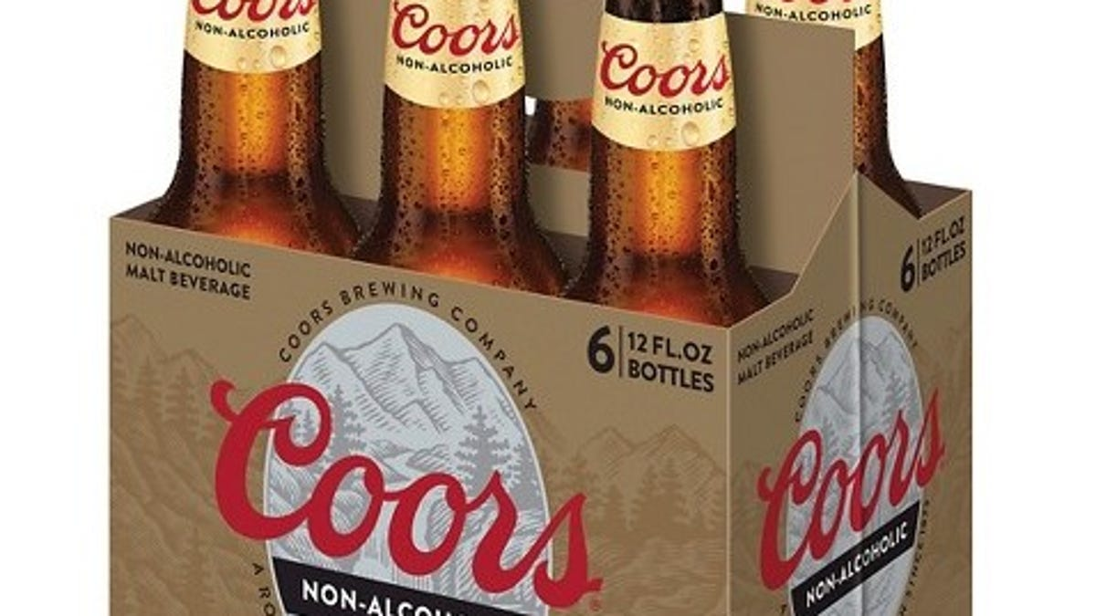 Which non-alcoholic beer is marginally better than just