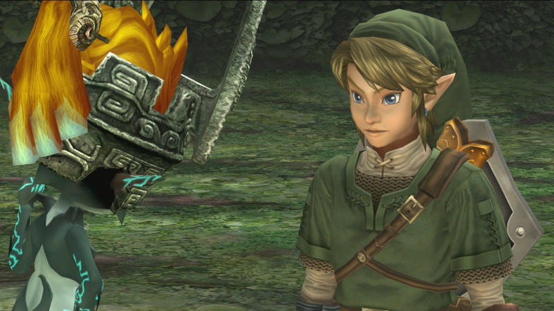 Noted fiscal conservative Midna discusses the merits of a flat tax approach with Link (Screenshot: The Legend Of Zelda: Twilight Princess HD/Nintendo)
