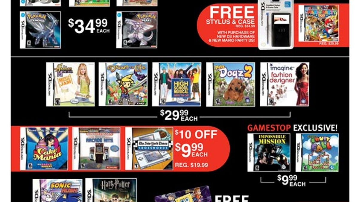 EB Games/GameStop Black Friday Ads Revealed