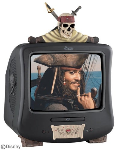 Illustration for article titled Pirates of the Caribbean AV Gear: Throw Good Taste to the Sharks