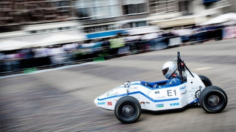 This Student Built Car Is The Fastest Accelerating