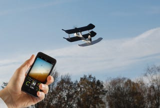 Illustration for article titled Get 30% Off The SmartPlane – The iOS & Android Controlled Drone Plane
