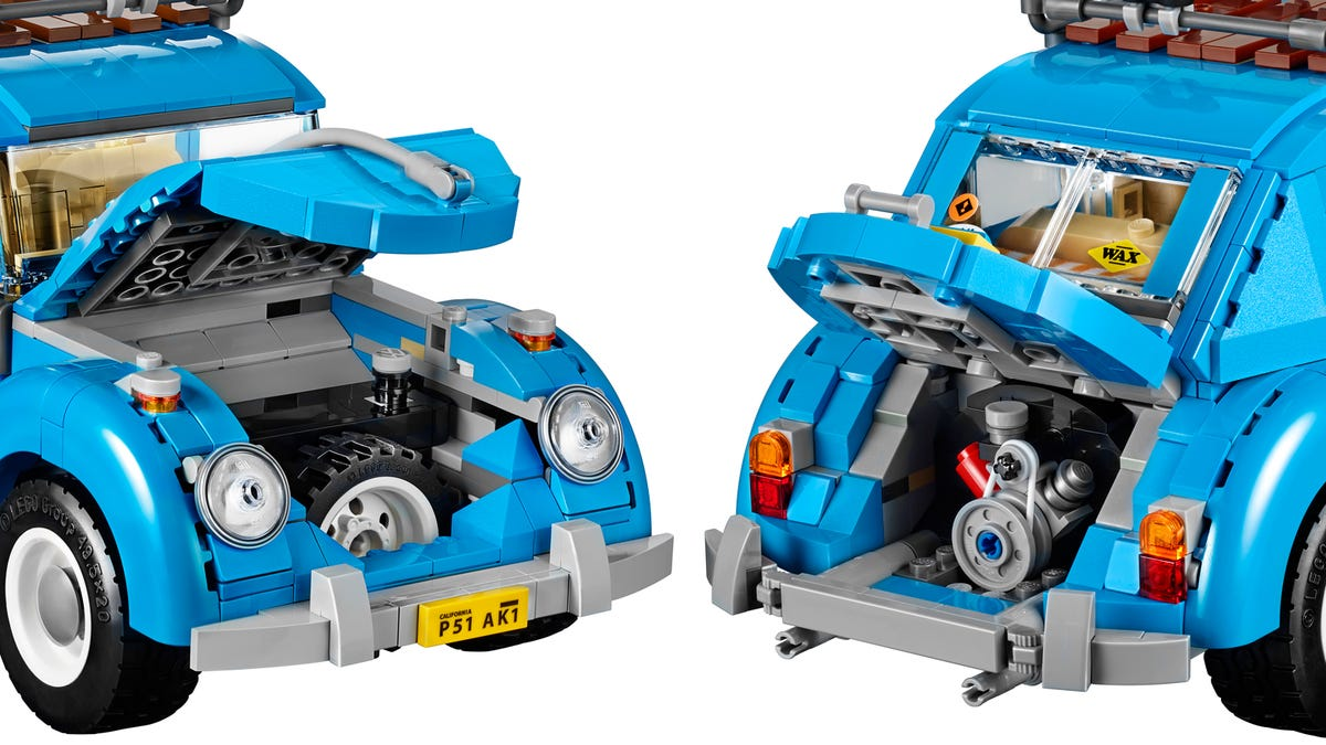 Lego S Second Attempt At A Classic 60s Vw Beetle Has Finally