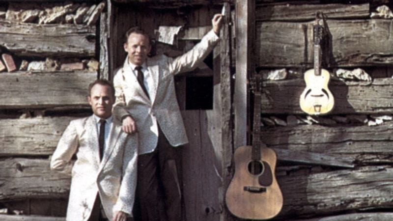 Illustration for article titled Week 14: The Louvin Brothers' tragic songs of Satan's realness