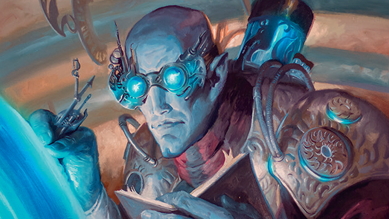 Aether Theorist, by Lucas Graciano.