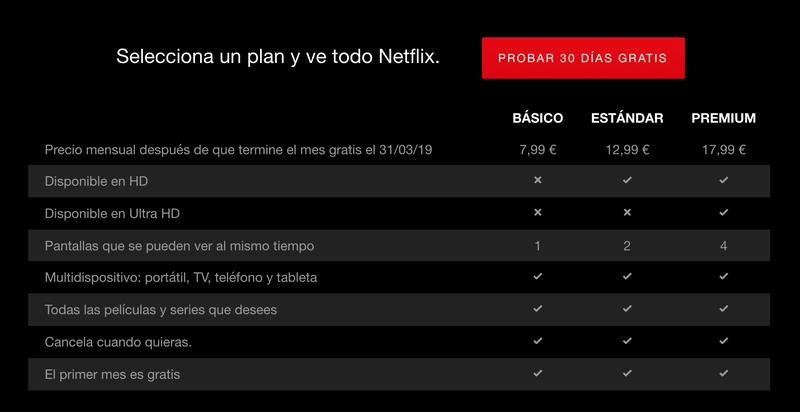 Illustration for article titled Netflix podría subir hasta 4 euros sus precios en España
