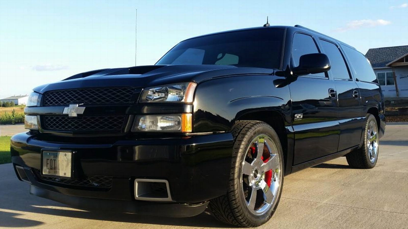 For $18,995, Would You Say This Custom 2003 Chevy Suburban ...