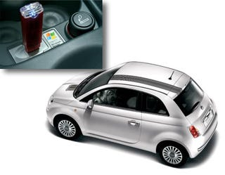 Illustration for article titled Fiat 500 Rolls Out in Europe, Bristling with Tech Goodness