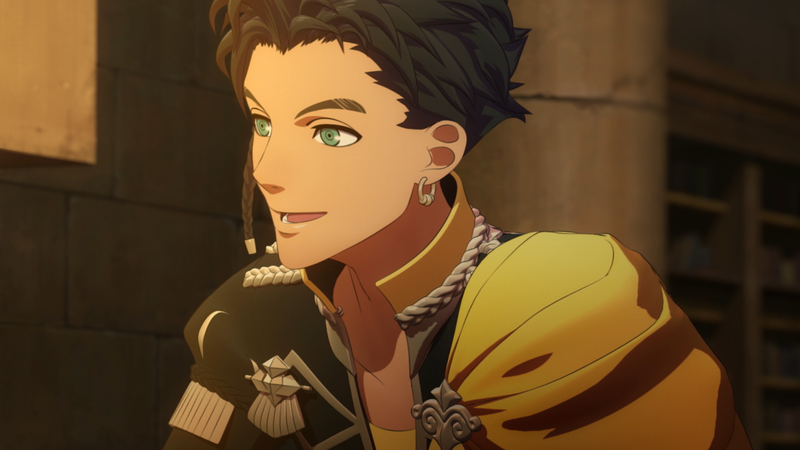 Illustration for article titled Fire Emblem: Three Houses Made Claude's Voice Actor Reminisce About Military Academy