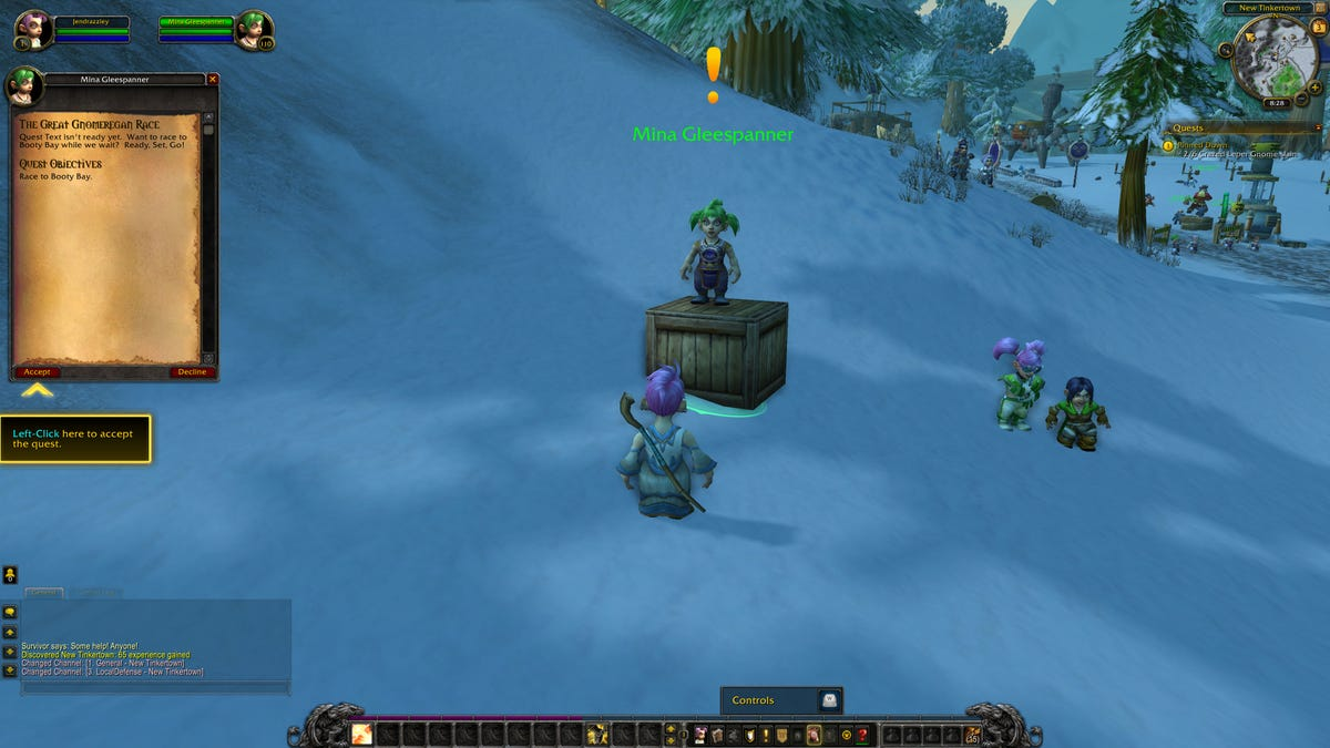 World of Warcraft's 'Running of the Gnomes' Fan Event Gets