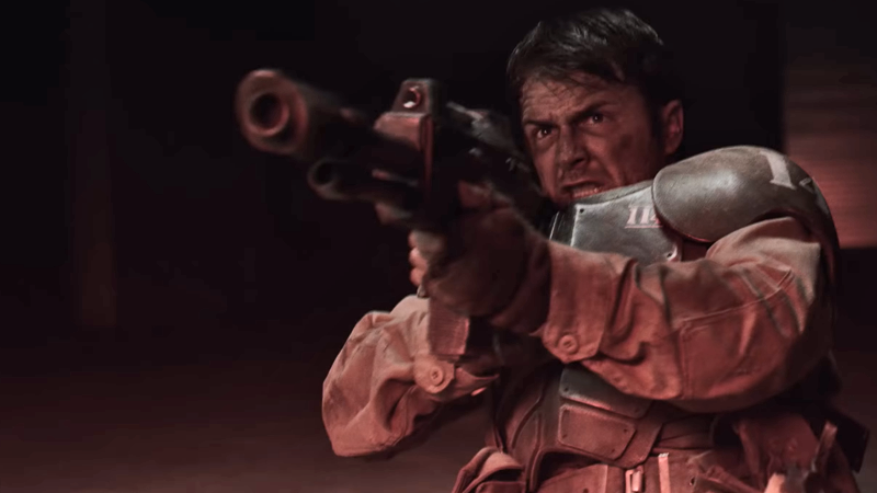 A poor Cadian Guard finds himself facing grim odds in this 40K fan film.