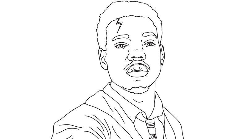Chance the rapper s coloring book now has an actual Coloring book 2 chance the rapper