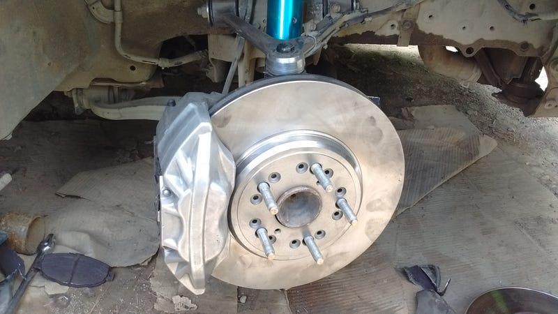 Illustration for article titled Bigger brakes