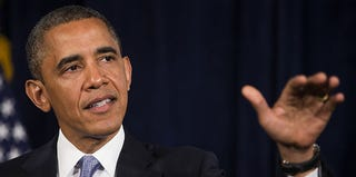 President Obama makes statement on the Affordable Care Act in June 2013 (Stephen Lam/Getty Images)