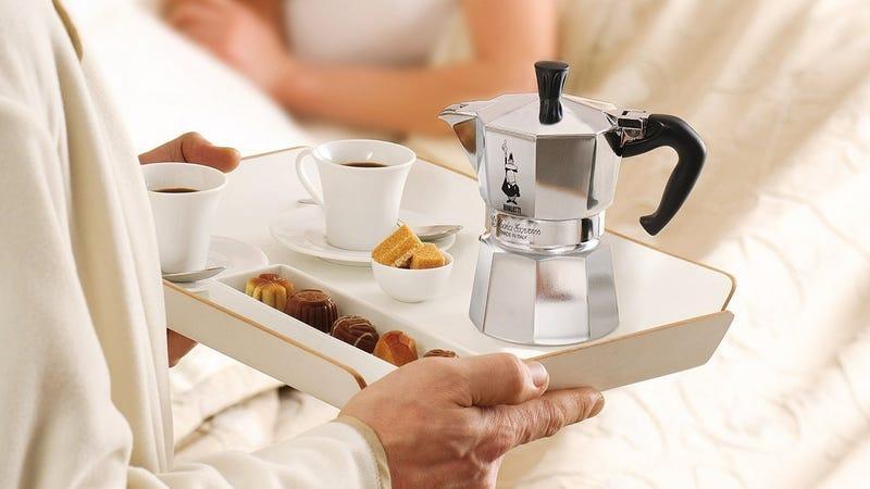 The Original Bialetti Moka Express 3-Cup Stovetop Espresso Maker | $19 | Amazon