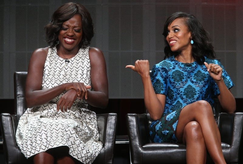 Actresses Viola Davis and Kerry Washington in 2015Frederick M. Brown/Getty Images