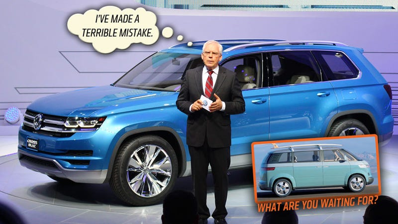 Illustration for article titled VW's 7-Seat SUV Is The Wrong Car To Build And I Know The Right One