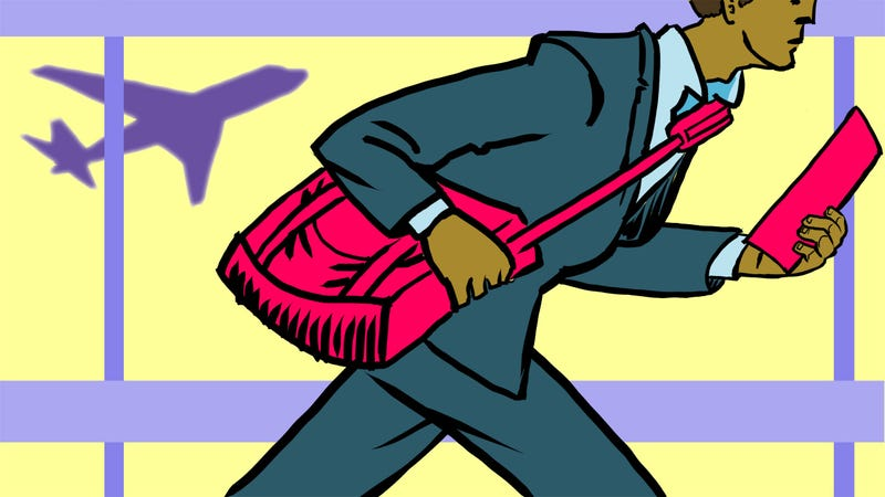 Illustration for article titled The Busy Professional's Guide to a One-Day Business Trip