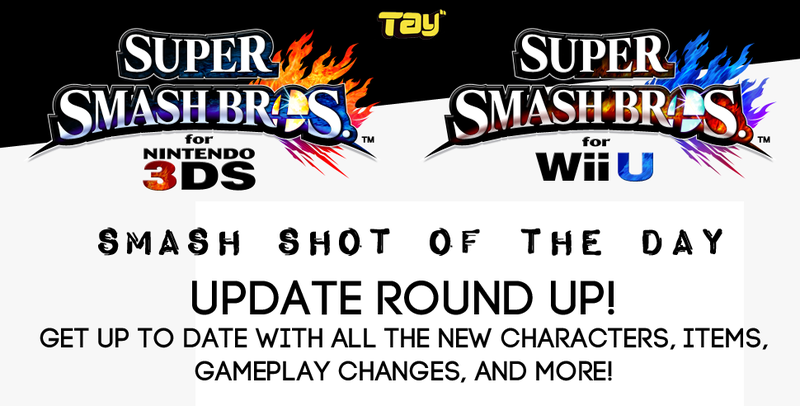 Illustration for article titled Smash Shots of the Day: Recap All the Updates!