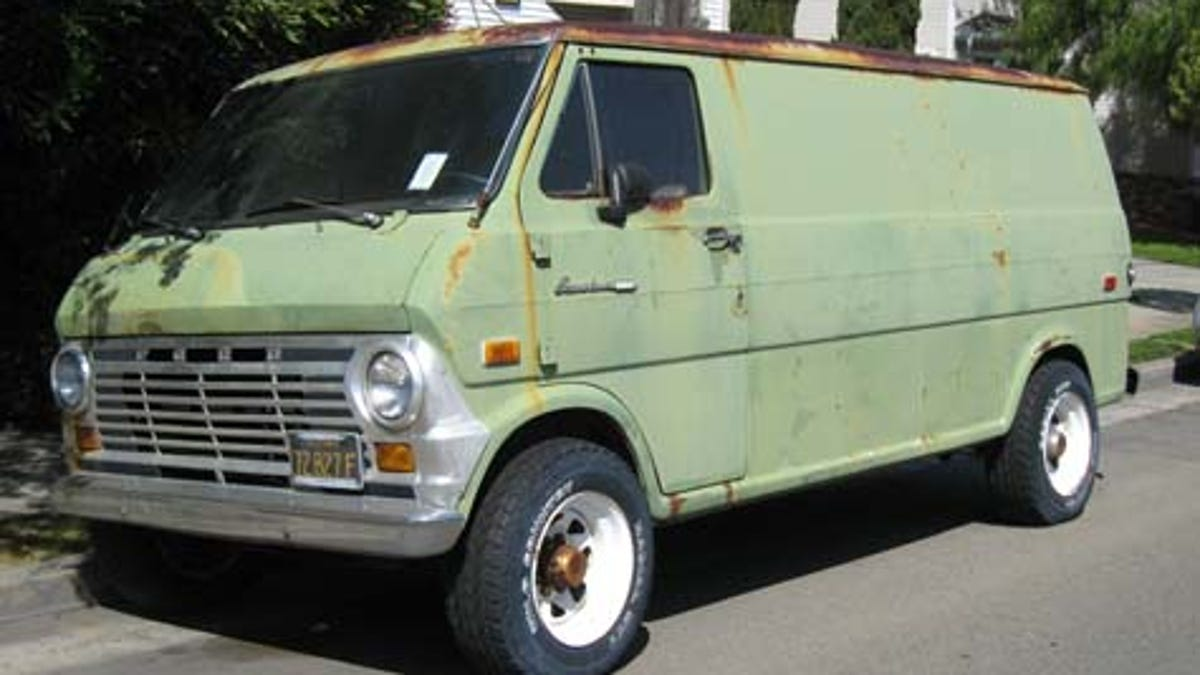 1969 Ford Econoline Custom 300 Super Van Dodge Camper