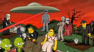 Illustration for article titled Heads up: Treehouse of Horror XXIV starts in like 20 min EST