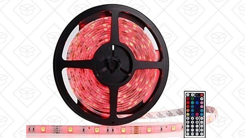 OxyLED Waterproof Strip Lights, $18 with code UGUHHDVA