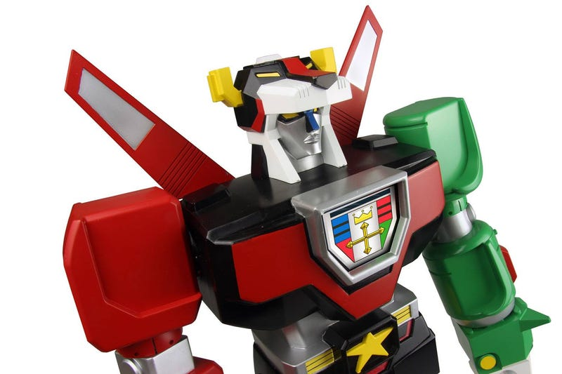 Illustration for article titled This new Voltron vinyl toy is both gorgeous and incredibly pricey