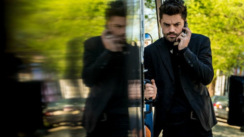 Dominic Cooper stars in Preacher (Photo: Michele K. Short/AMC/Sony Pictures Television)