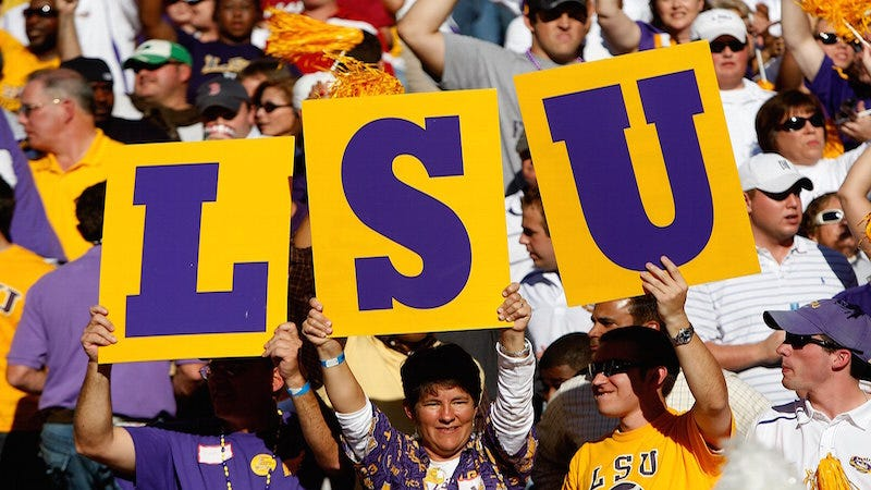 Illustration for article titled LSU Police Department Is 'Skeptical' Over Gameday-Related College Sexual Assault Statistics