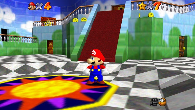 Illustration for article titled Here's Everything We Know So Far About 'Super Mario 64'