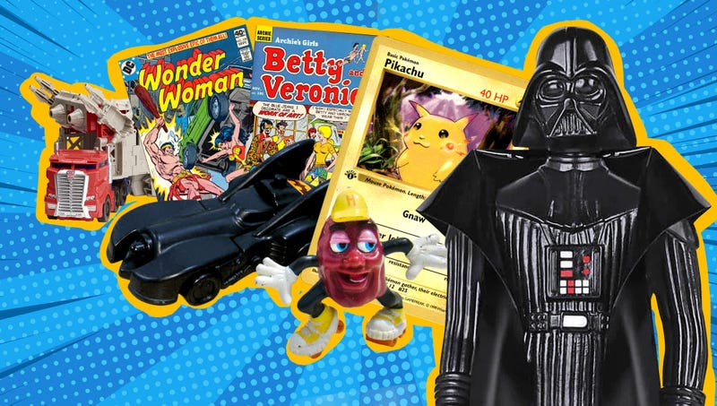 What was the first pop culture you collected as a kid